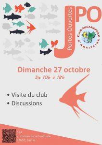 Read more about the article Journée Portes Ouvertes Dimanche 27 octobre 2019